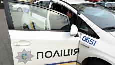 Автомобиль полиции в Киеве. Архивное фото