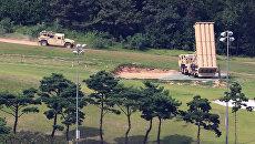 Американский комплекс ПРО THAAD в Южной Корее