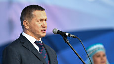 Полномочный представитель президента РФ в ДФО Юрий Трутнев