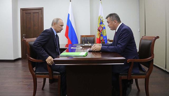 Путин сократил губернатора Приморского края Владимира Миклушевского