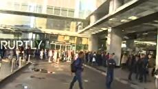 Эвакуация небоскреба в Москва-сити из-за подозрительного объекта.