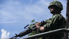 Солдат в Мексике. Архивное фото