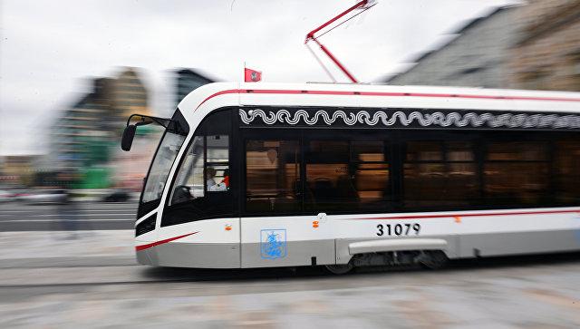 Врайон Бирюлево Западное протянут новейшую трамвайную линию