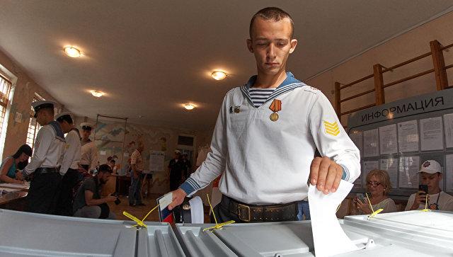 Украина выразила протест из-за выборов в Крыму