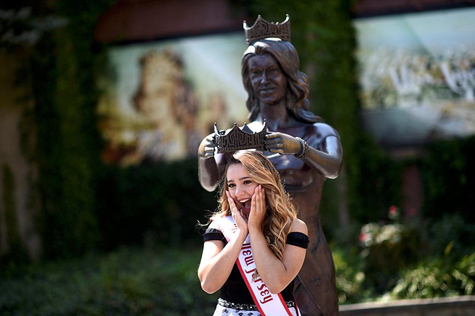Участница конкурса красоты Мисс Америка
