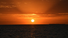 Закат. Архивное фото