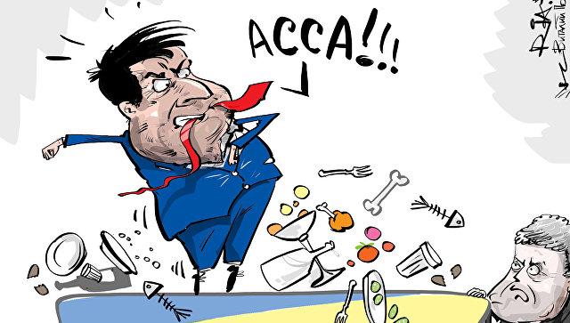 Политическая клоунада Саакашвили