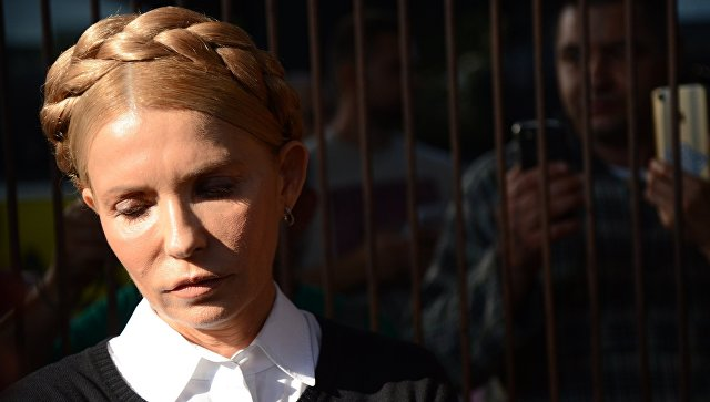 Тимошенко заявила, что Порошенко необходимо отрубить руку