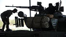 Учебные стрельбы мотострелковой дивизии. Архивное фото
