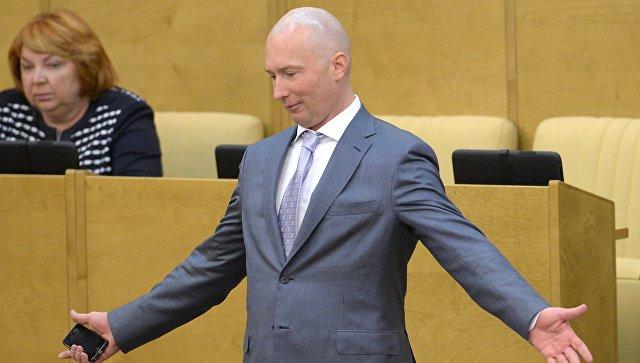 Вице-спикер Государственной думы РФ от ЛДПР Игорь Лебедев. Архивное фото