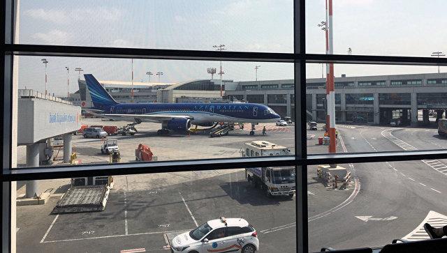 Самолет на котором в Израиль доставили арестованного Александра Лапшина