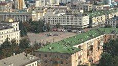 На центральной площади Белгорода обнаружено тело мужчины. 14 сентября 2017