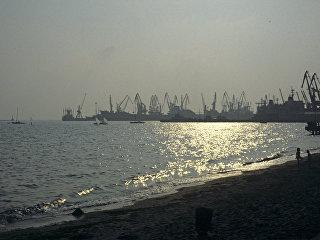Бердянский морской порт. Архивное фото
