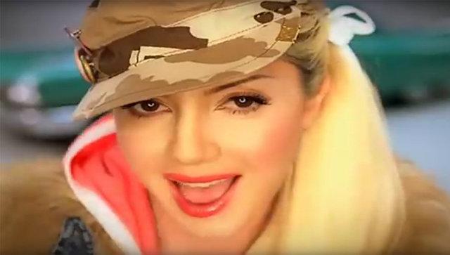 Рада (Родика) Змихновская в клипе группы Банд'Эрос