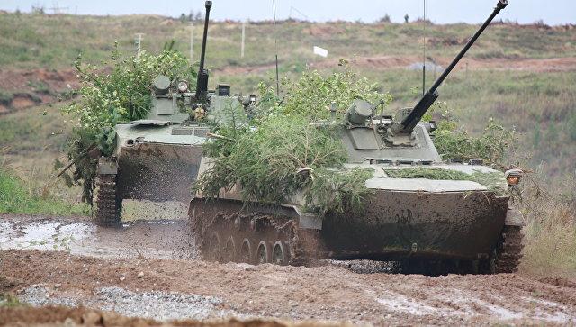 Закончился  1-ый  этап российско-белорусских учений «Запад-2017»