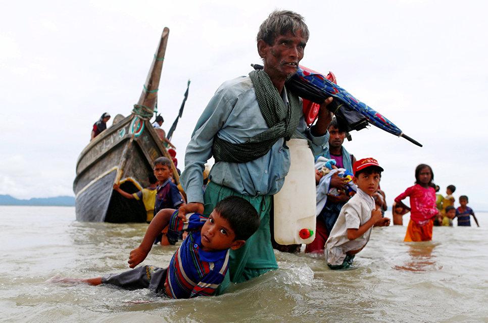 Геноцид мусульман в Мьянме (Бирме) 2017