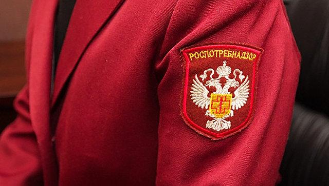 Форменная одежда сотрудника Роспотребнадзора. Архивное фото