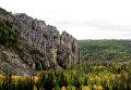 Национальный природный парк Ленские столбы в Якутии