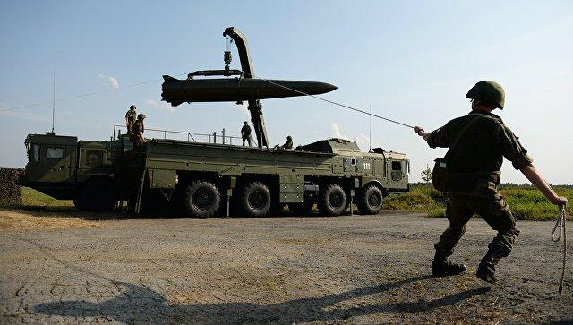 """Минобороны подтвердило получение бригадного комплекта """"Искандер-М"""""""