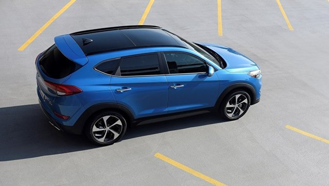 Hyundai Tucson. Архивное фото