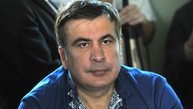Саакашвили объявил опланах поселиться всердце Украинского государства