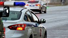 Автомобили полиции. Архивное фот