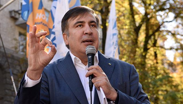 Саакашвили хотят выдворить с государства Украины