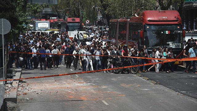 ВМексике объявлен трехдневный траур пожертвам землетрясения
