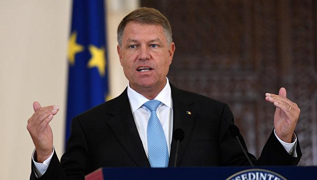 Президент Румынии Клаус Йоханнис. Архивное фото