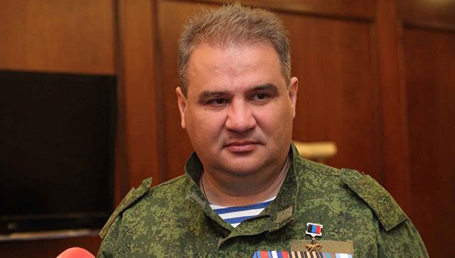 Министр доходов и сборов ДНР Александр Тимофеев. Архивное фото