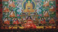 Далай-лама дает учения в Риге для буддистов стран Балтии и России