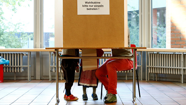 Заполдня явка навыборах вБундестаг составила свыше 40%