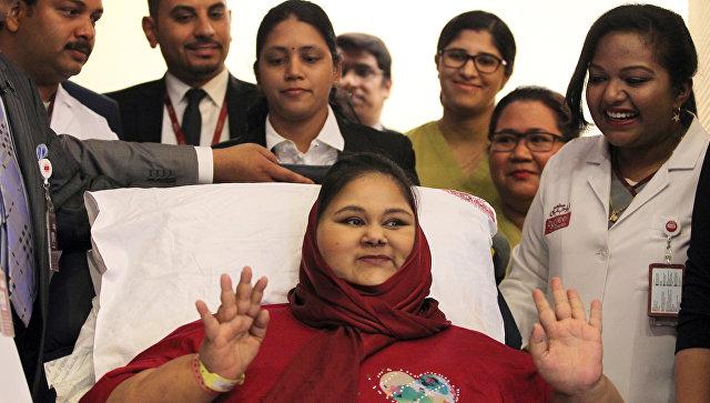 ВАбу-Даби скончалась самая толстая женщина вмире