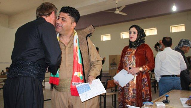 Явка на референдуме о независимости Курдистана в Киркуке превысила 70%