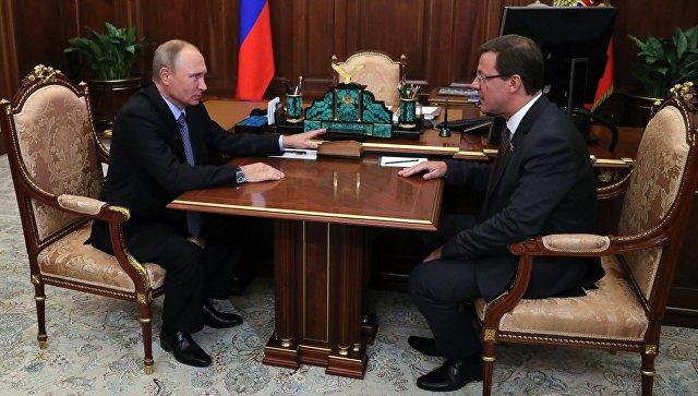 Приволжский полпред представит вСамарской области врио губернатора региона Азарова