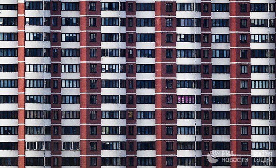 Фасад жилого здания