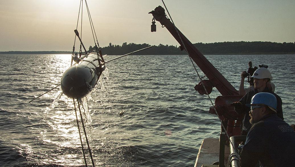 Испытания глубоководного беспилотного глайдера Морская тень. 27 сентября 2017