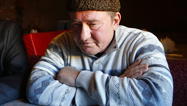 Зампред организации Меджлис крымско-татарского народа Ильми Умеров. Архивное фото
