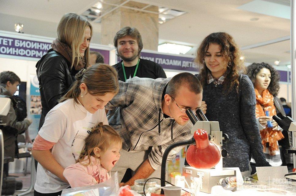 С6 по8октября в столице России состоится Фестиваль науки