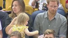Двухлетняя девочка стащила попкорн у принца Гарри