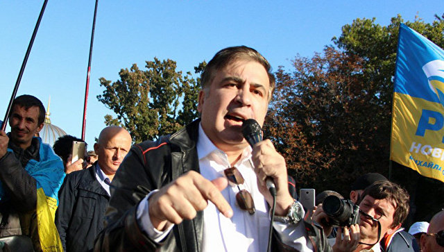 Саакашвили заявил, что намерен поменять власть в Киеве