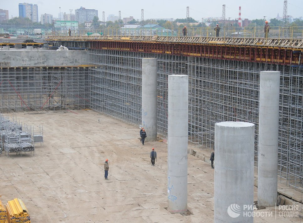 Строительство участка Северо-Восточной хорды