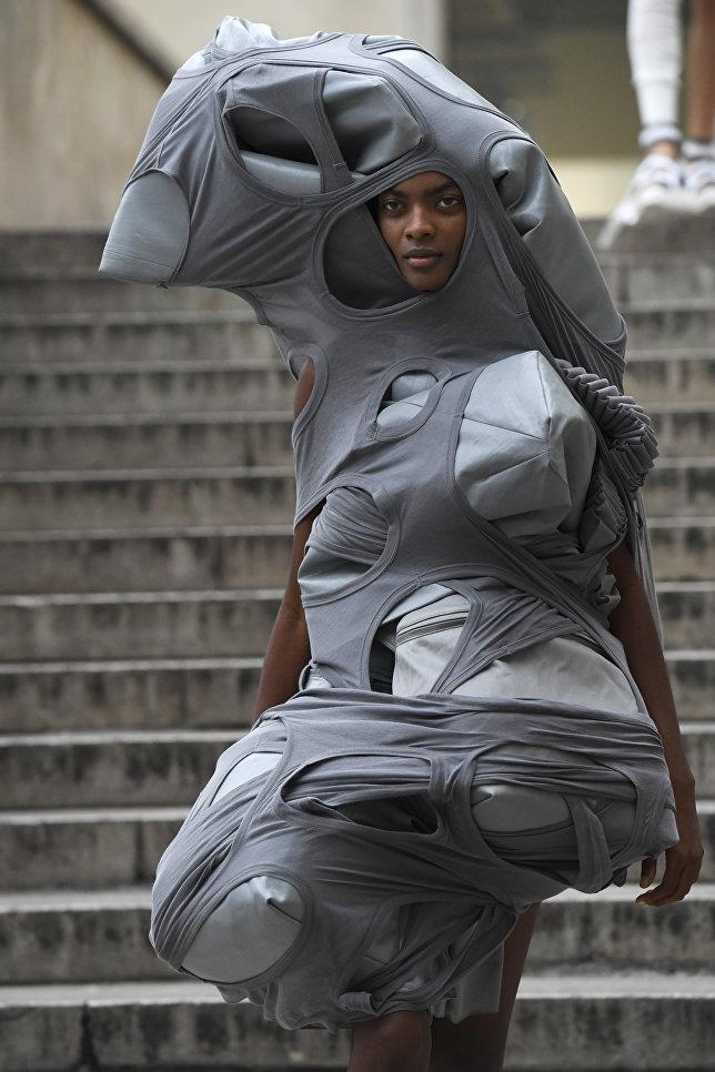 Показ коллекции Rick Owens в рамках Недели моды в Париже