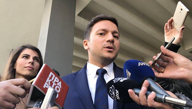 Адвокат гражданина России Александра Винника в Греции Илиас Спирлиадис. Архивное фото