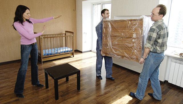 Заселение нового жилого дома