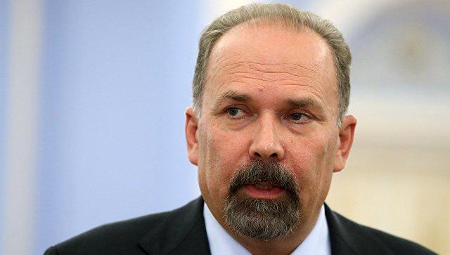Министр строительства и жилищно-коммунального хозяйства РФ М. Мень