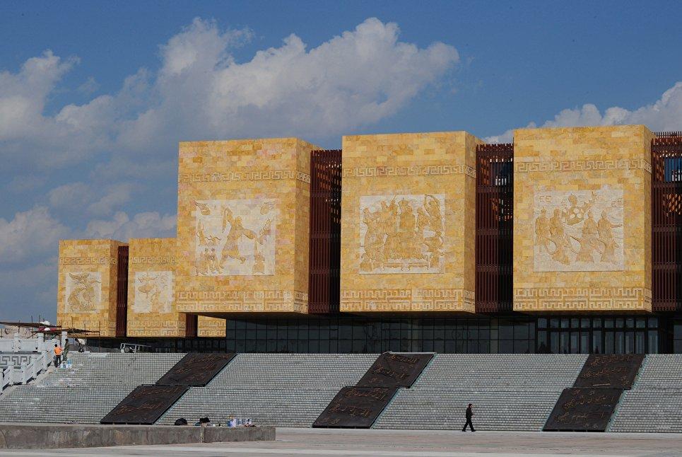 Здание в Ордосе