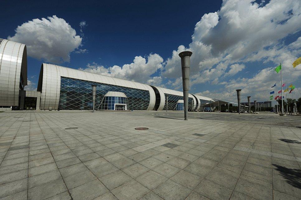 Выставочный центр в Ордосе