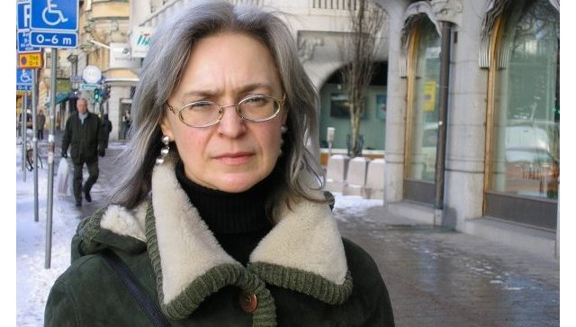 Журналист Анна Политковская