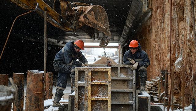 Строительство Северо-Западной хорды Москвы